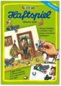 A5 Haftspiel Pferdestall für Kinder
