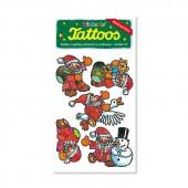 Weihnachtsmänner Tattoos