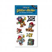Pit Planke III Glitter Sticker