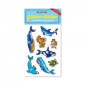 Meerestiere Glitter Sticker