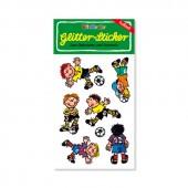 Fußball Glitter Sticker