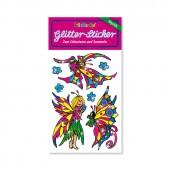 Blumenelfen Glitter Sticker