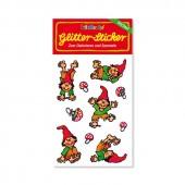 Wichtel Glitter Sticker