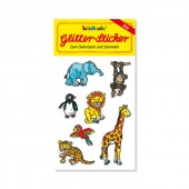 Zoo Glitter Sticker