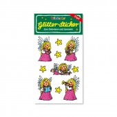 Engel Glitter Sticker