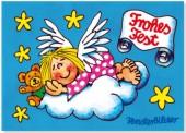 Fensterbild + Postkarte Himmlischer Traum
