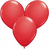 100 Luftballons in Rot