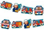 3,00m Girlande Feuerwehr