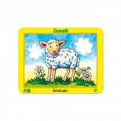 6-teiliges Puzzle Schaf