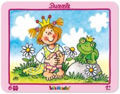 6-teiliges Puzzle Prinzessin