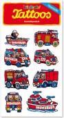 Feuerwehrfahrzeuge Tattoos