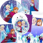 101-teiliges Set: Frozen Snowflakes