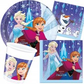 37-teiliges Spar-Set: Frozen - Snowflakes