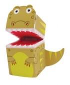 4 Fingerpuppen Dinos und T-Rex II
