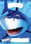 8 Partytüten Haifisch