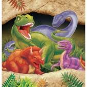 16 große Servietten Dinos und T-Rex II