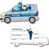 108-teiliges Set: Polizei