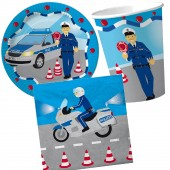 37-teiliges Spar-Set: Polizei