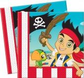 16 Servietten Jake und die Nimmerland Piraten