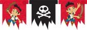 3m Wimpelkette Jake und die Nimmerland Piraten
