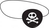 4 Augenklappen Jake und die Nimmerland Piraten