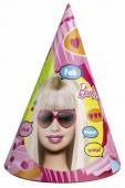 6 Partyhütchen Barbie