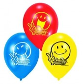 6 Luftballons Smiley World