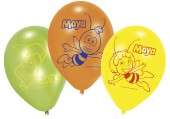 6 Luftballons Biene Maya
