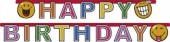 Happy Birthday Banner Smiley World