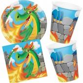 33-teiliges Spar-Set: Drachen