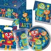 101-teiliges Set: Lustige Roboter
