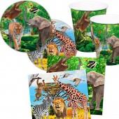 37-teiliges Spar-Set: Zoo und Safari
