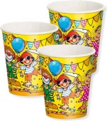 8 Becher Party Kids