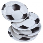 8 Teller Fußball