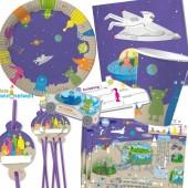 108-teiliges Set: Weltraum