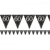 Wimpelkette für den 60. Geburtstag