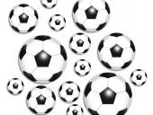 XXL Fussball Konfetti Fußbälle