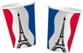 10 Becher Frankreich