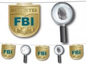 Wimpelkette Detektiv