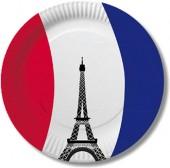 10 Teller Frankreich