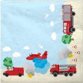20 Servietten Feuerwehr