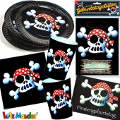104-teiliges Set: Jolly Roger