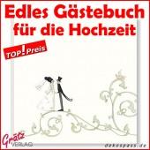Edel-Gästebuch Fotobuch Hochzeit von Silke Leffler