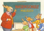 Hasenschule Malbuch