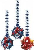 3x Hängedekoration The Amazing Spiderman 2
