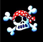 20 Piraten-Servietten Jolly Roger