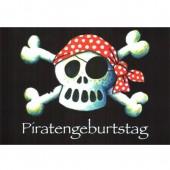 104-teiliges Set: Jolly Roger