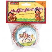 40 Muffin-Förmchen Indianer Yanuk