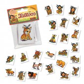 24 Mini Tattoos Indianer Yanuk