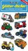 Fahrzeuge Glitter Sticker